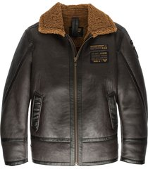 lammy jacket 100% sheepskin d.brown
