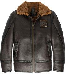 lammy jacket 100% sheepskin d.brown
