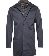 slhken carcoat b dun jack blauw selected homme