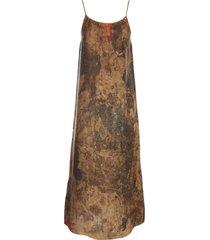 uma wang anaya long dress thin strap