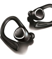 brookstone true wireless earbuds with charging case