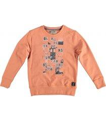 garcia zachte oranje sweater