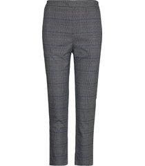 riley 980 pantalon met rechte pijpen grijs plaîn