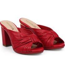 sandalia rojo versilia lilipink