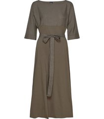 azoto maxi dress galajurk bruin max mara leisure