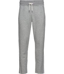 d1. gant stripe sweat pants sweatpants mjukisbyxor grå gant