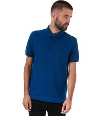 mens paris regular fit cotton piqué polo shirt
