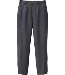 comfortabele linnen broek, lei 38