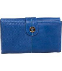 billetera liria azul bosi