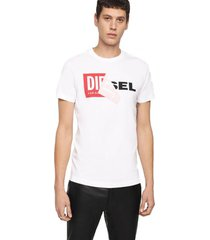 polera t diego qa t shirt blanco diesel