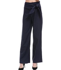 pantalón rayas cinta azul nicopoly