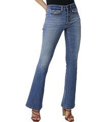 harry stone yoko flare jeans