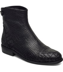 boot 3 cm shoes boots ankle boots ankle boot - flat svart sofie schnoor