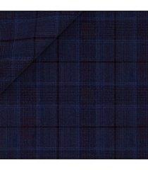 giacca da uomo su misura, lanificio zignone, leggerissimo blu principe di galles, primavera estate