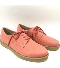 zapato de cuero coral antoinette cremona