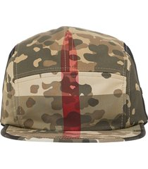 burberry camouflage cap - green