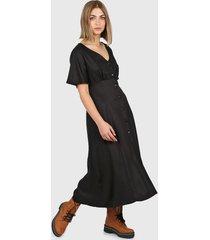 vestido negro montjuic kalimnos