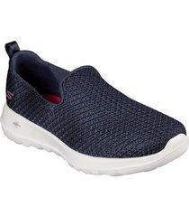 zapatos mujer  go walk joy - fiesta azul skechers