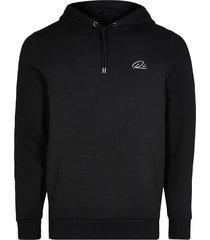 river island mens black ri muscle fit hoodie