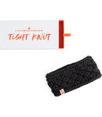 sh*t that i knit the bliss merino wool headband, size one size - black