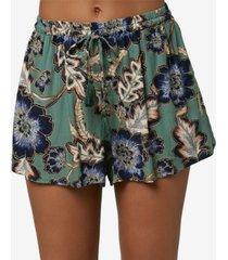 o'neill juniors' vickie floral-print soft shorts