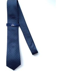 corbata azul oscura oscar de la renta 20aa2078-194