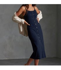 superdry women's charlotte button down dress