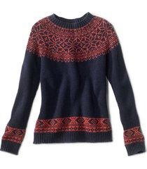 classic fair isle sweater