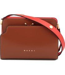 marni smooth leather satchel