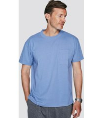 t-shirt i bomull - ljusblå