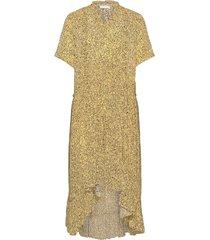 2nd edition gwen supine jurk knielengte geel 2ndday