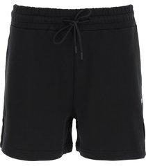msgm shorts with micro logo print