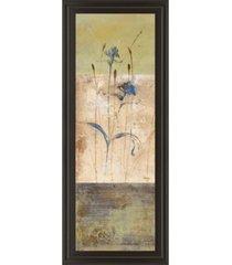 """classy art kimono i by loretta linza framed print wall art - 18"""" x 42"""""""