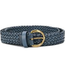 officine creative rope woven belt - blue