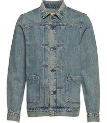 lmc type ii worn trucker lmc t jeansjack denimjack blauw levi's made & crafted
