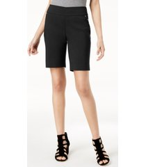 inc stud-trim bermuda shorts, created for macy's