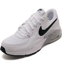 tenis lifestyle blanco-negro nike air max excee