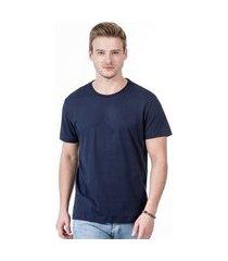camiseta javali básica azul marinho