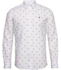 matthew button under shirt overhemd casual wit morris
