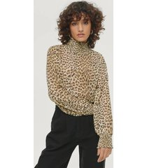 blus alicia turtleneck top