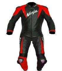 new men multicolor motorcycle racing leather suit jacket pants for ninja