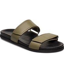 route strap sandal shoes summer shoes sandals grön royal republiq