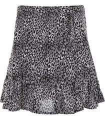 michael michael kors ruffled mini skirt
