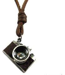 collana handmade vintage della pelle della macchina fotografica dell'annata