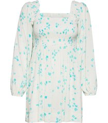 mini dress kort klänning vit ganni