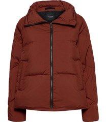 slfdaisy down jacket b gevoerd jack rood selected femme