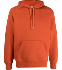 carhartt hooded chase logo sweatshirt