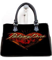 parkway drive cover album custom barrel type handbag