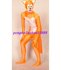 lycra spandex zentai fancy fox suit catsuit costumes halloween cosplay suit s210