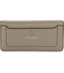 open face leather wallet